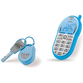 Celular + Chave E Chaveiro Brinquedo