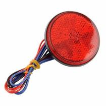 Lanterna Traseira Universal Redonda De Led Atv, Buggy, Etc