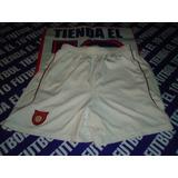 Tecos Short De Juego Retro Blanco