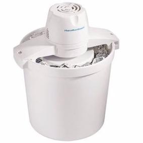 Maquina Para Hacer Helados Nieve Yogurt Hamilton 4 Quarts