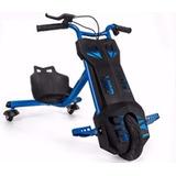 Scooter Elétrico Kids Drift Triciclo Azul - Motor 120 Watts
