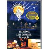 Dvd + Cd Bicho De Pé Tributo A Luiz Gonzaga - Novo Lacrado