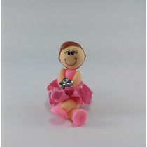 Lembrancinha Bailarina Biscuit Aplique