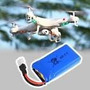 Bateria Para Drone - 1pç 3,7 V 380mah Lipo Li-poly