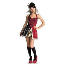 Disfraz Talla 14 A 16 Años Niña Reina De Corazones Alicia