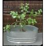 Maceta Jardinera Artesanal De Zinc- Decoración- Ambientación