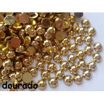 Meia Perola Chatons Chatom Dourado (1,5mm) 1gr +/- 800pcs