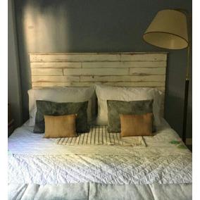 Respaldo de cama blanco respaldos en camas y respaldos - Cabecera de cama reciclada ...