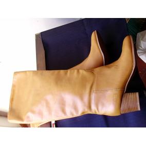 Botas Caña Alta Zara Color Caramelo Talle 39 Nuevas