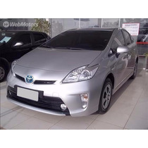 Toyota Prius 1.8 Hybrid Prata 2013/13 Unico Dono.só A Vista