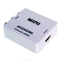 Convertidor Av (rca) Audio Y Video A Hdmi Zonalaptop