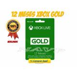 Tarjetas Xbox Live Gold 12 Meses (1 Año) - Entrega Inmediata