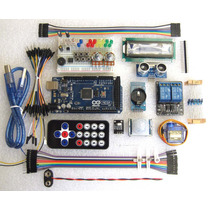 Arduino Mega Kit Módulos Básicos Pir Relé2 Ds3231 Ultrasónic
