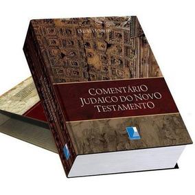 Comentário Judaico Do Novo Testamento Frete Grátis