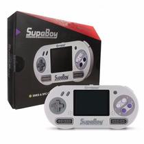 Supaboy Super Nintendo Portatil Lacrado + Donkey Kong 2 Orig