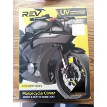 Funda Moto Rev Cobertor Protector Solar Agua Nieve