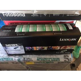 Tóner Lexmark 34018hl E330, E332, E340, E342.