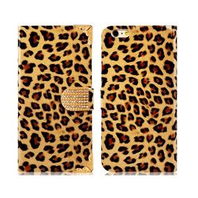 Funda Iphone 6 Plus/iphone 6s Plus Imitacion Leopardo