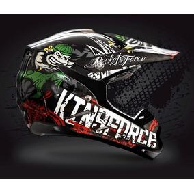 Casco De Moto Cross Kingforce Rocket Force Original