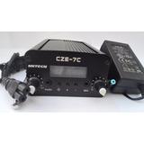 Kit Transmisor Fm 7w Stereo Pll + Adaptador + Antena