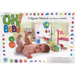 Movil Musical De Cuna- Ok Baby- Giro Didactico