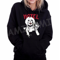 Blusa Moletom American Horror History Lady Gaga Canguru