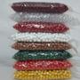 500 Unid Micanga Bola Conta De Plástico 10mm Várias Cores