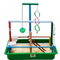 Playground Completo Para Calopsitas (consulte Cores)