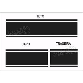 Kit Adesivo Faixas Capo, Teto E Traseiro Lifan Imp83