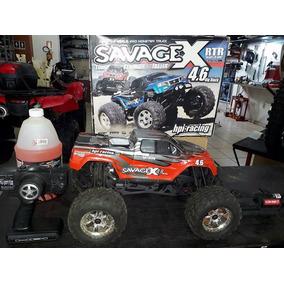 Carro Carrinho A Combustão Savage X 4.6 Hpi Racing 1/8