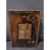 Dvd Três Homens Em Conflito - Edição Especial Duplo Com Luva