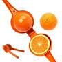 Exprimidor De Naranja Limon Lima Metalico -bazarsinfrontera