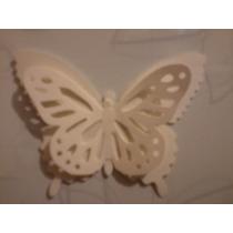 Mariposa Monarca De Papel 2d Blanca, Fiestas Y Eventos Qmafq