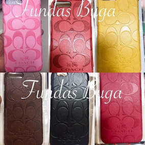 Funda Coach Iphone 6 6s Y Plus Case Protector Lv Piel