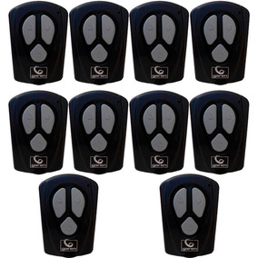 Kit 10 Controles P Portão 433,92 Mhz 3 Canais Original Garen