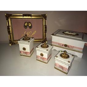 Kit Higiene Bebê ( Mdf, Decoupagem, Artesanato, Presentes)