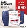 Pack Lóréal Revitalift: Día + Noche + Bolso