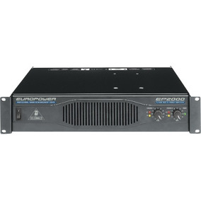 Amplificador Behringer Ep2000 Europower 2000w Profesional