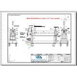 Projeto P Const. Calandra 1500 X 1/4 Curvador De Tubo Perfil