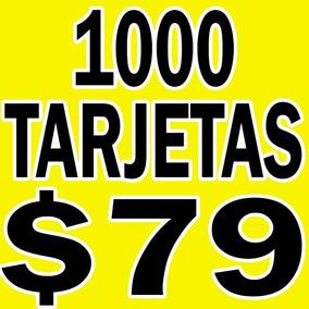 Tarjetas De Presentacion Couche ¡¡barato, Calidad!!