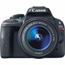 Maquina Canon Semi Profissional Eos Rebel Sl1 18-55 18mp,
