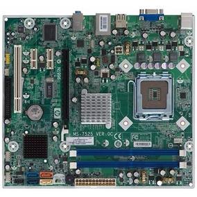 Placa Mãe Hp Compaq Ms-7525 Lga 775 Ddr2 Aceita Core 2 Duo