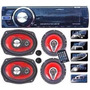 Estereo Luxell 240b Usb Sd Bluetooth + 4 Parlantes +2 Tw Cjf