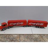 1,65 Metros Bitrem 9 Eixos Carreta Bau Coca Cola Scania