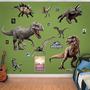 Fathead Mundo Jurásico Dinosaurios Colección Real Etiquetas