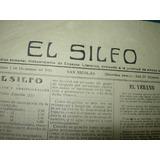 El Silfo Diario San Nicolas Antiguo Periodico Literario 1915