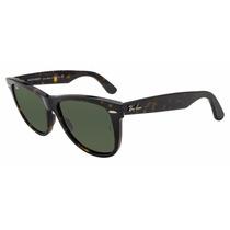 Óculos Rayban Wayfarer Rb2140 Tartaruga Verde G15 Original