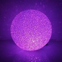 Vela Led Esfera Chica 7 Cms Centro De Mesa Cotillon Luminoso