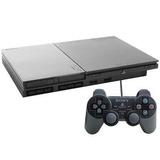 Playstation 2 Desbloqueado + Controle+ 10jogos