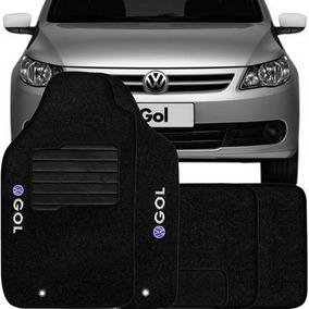 Tapete Carpete Confort Bordado Volkswagen Gol G5 - 5 Peças